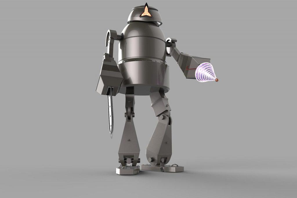 robot, future, modern